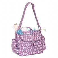Okiedog Freckles Cooler Bag Rombe Size 31 x 18 x 24 cm Color Purple Pink