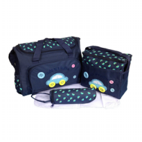 255 4 IN 1 Diaper bag Tas Perlengkapan bayi travelling bag multifungsi