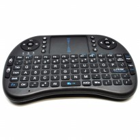 Keyboard Wireless 2.4GHz dengan Touch Pad  Fungsi Mouse