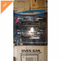 oven gas kue 75x60 stenless