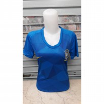 JERSEY BOLA LADIES BRAZIL AWAY OFFICIAL WORLD CUP 2018 GRADE ORI