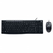 Logitech Media Combo Keyboard and Mouse - MK200