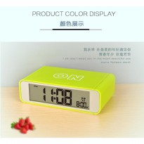 Jam Alarm Digital Meja / Desk Clock Simple Alarm