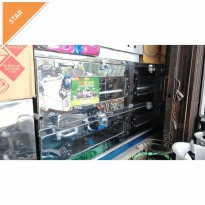 oven gas kue 150x60 stenles