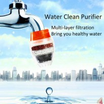 Filter Keran Air Tap Water Clean Purifier Filter for 16-19mm