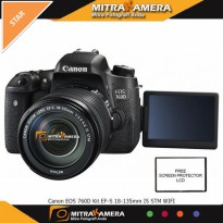 Canon EOS 760D Kit 18-135mm IS STM WIFI