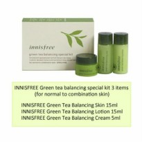 Innisfree Green Tea Balancing (3 items)