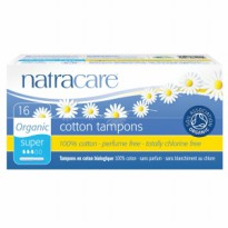 Natracare Cotton Tampon Super With Applicator free Gift