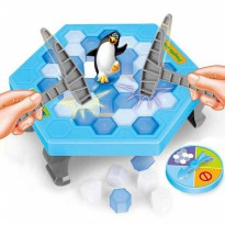 Mainan Penguin Trap Ice Breaking Running Man