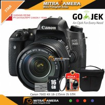 Canon 760D Kit 18-135mm IS STM Paket