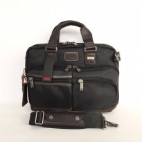 Authentic Tumi Andersen Commuter Brief - Black
