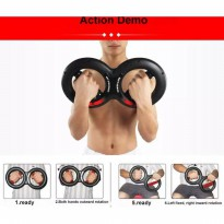 Alat Fitnes Wrist Arm Force Exercise Iron Gym Arms 20KG Multifungsi