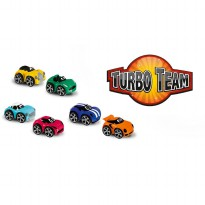 Chicco Turbo Team Mainan Balita Stunt Car Willy Miles Diecast