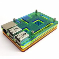 Colorful Acrylic Case for Raspberry Pi Model B+ PCBA