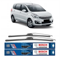 Bosch Sepasang Wiper Mobil Suzuki Ertiga Frameless New Clear Advantage 21' & 14' - 2 Pcs/Set