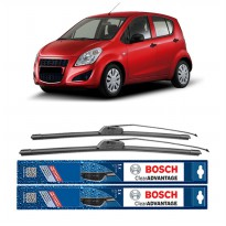 Bosch Sepasang Wiper Mobil Suzuki Splash Frameless New Clear Advantage 22' & 16' - 2Buah/Set