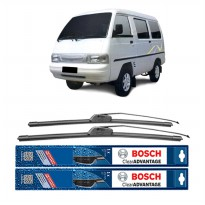 Bosch Sepasang Wiper Mobil Suzuki Carry Futura Frameless New Clear Advantage 16