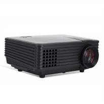 Mini LED Projector 805 HD Built in TV Tunner - Proyektor Mini LED