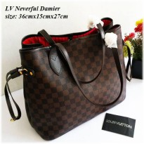 damier neverful tas