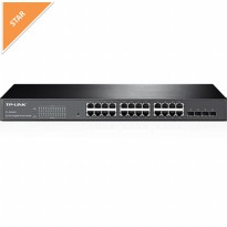 TP-Link TL-SG2424 : 24-Port Gigabit Smart Switch with 4 Combo SFP