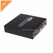 AV 3 RCA or HDMI TO HDMI CONVERTER BOX - HD8a