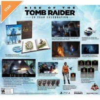 Kaset Game PS4 Rise of the Tomb Raider [Limited Edition]