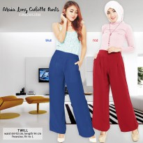 Maia Long Culotte Pants