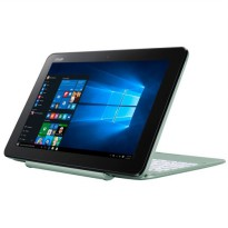 Asus T101HA-GR011T Resmi(Intel x5-Z8350-128Emmc-2GB-10'-Win 10-Touchscreen) MINTGREEN