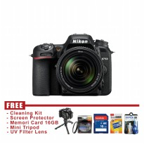 Nikon D7500 Kit 18-140mm - FREE Accessories
