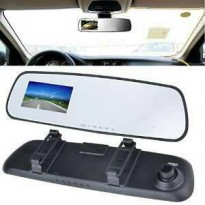 Car Camera DVR Rearview Mirror HD720p ( Kaca Spion Kamera )