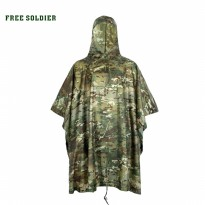 Jas Hujan Motor Outdoor Motif Tentara Army Waterproof Rain Coat