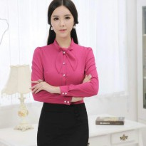 Jfashion Korean Style Shirt With Syall - Kezia