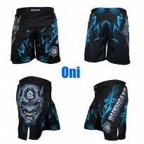 Celana MMA Oni Mask - Celana Combat MMA Shorts Fight Short