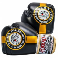 Sarung Tinju Yokkao Official Fight Team 12oz - MuayThai Boxing Gloves
