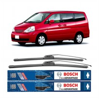 Bosch Sepasang Wiper Mobil Nissan Serena C24 Frameless New Clear Advantage 24