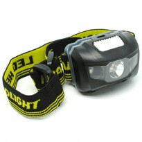 Headlamp LED Multifunction Outdoor 3W - GD63 - Black