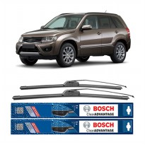 Bosch Sepasang Wiper Mobil Suzuki Grand Vitara Frameless New Clear Advantage 19' & 19' - 2Buah/Set