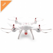 Syma X8SW 2.4G 4 inch RC Quadcopter with WiFi Camera - Putih
