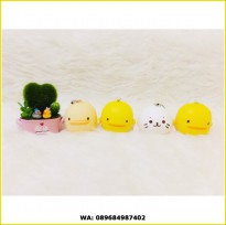 PIYO PIYO / SEA LION SQUISHY MEDIUM / bebek squishi pio slime mother