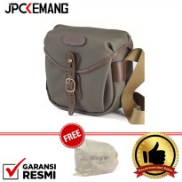 Billingham Hadley Digital Sage Choco 100% Handmade In England Free Billingham Dust Bag GARANSI RESMI