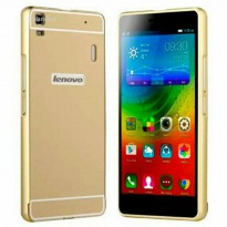 DOUBLE CASE BUMPER LENOVO A7000 / PLUS BACK CASE COVER DOOR CASING