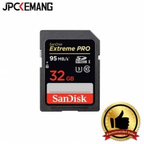SANDISK SDHC EXTREME PRO UHS-I 32 GB 633X 95MB/SEC READ AND WRITE