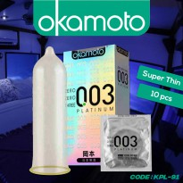 Okamoto Platinum 0.03 Kondom - Kondom Made In Japan - KPL-91