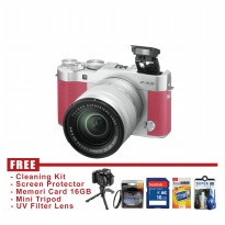 Fujifilm X-A3 Kit 16-50mm Mirorrless - Pink - FREE Accessories