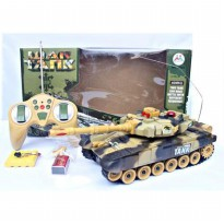 rc tank leopard charger ( mainan anak remote controle, remot control )