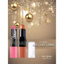 [SALE BUY 1 GET 1 FREE] LA COLORS MOISTURE CREAM LIPSTICK