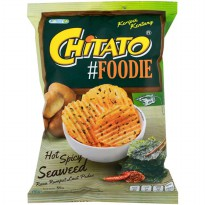 Chitato Foodie Hot Spicy Seawed 55 gram