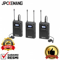 Boya BY-WM8 Pro K2 Dual Channel UHF Wireless Microphone ORIGINAL