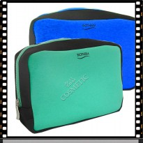 Vivid Large Biotherm Summer Travel Travel Carrying Case Pouch Wallet Card Accessories