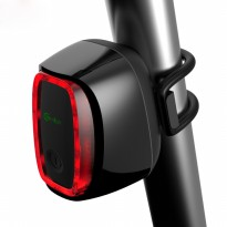 Meilan X6 Lampu Sepeda Rechargeable Bicycle Smart Taillight Warning